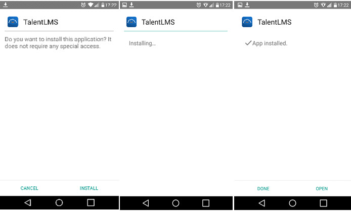 How to install the TalentLMS Android app outside the Google Play