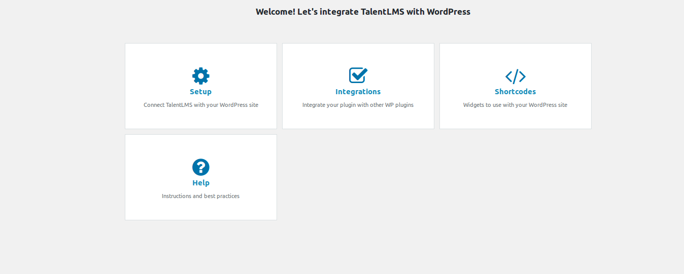 How to integrate TalentLMS with WordPress and WooCommerce