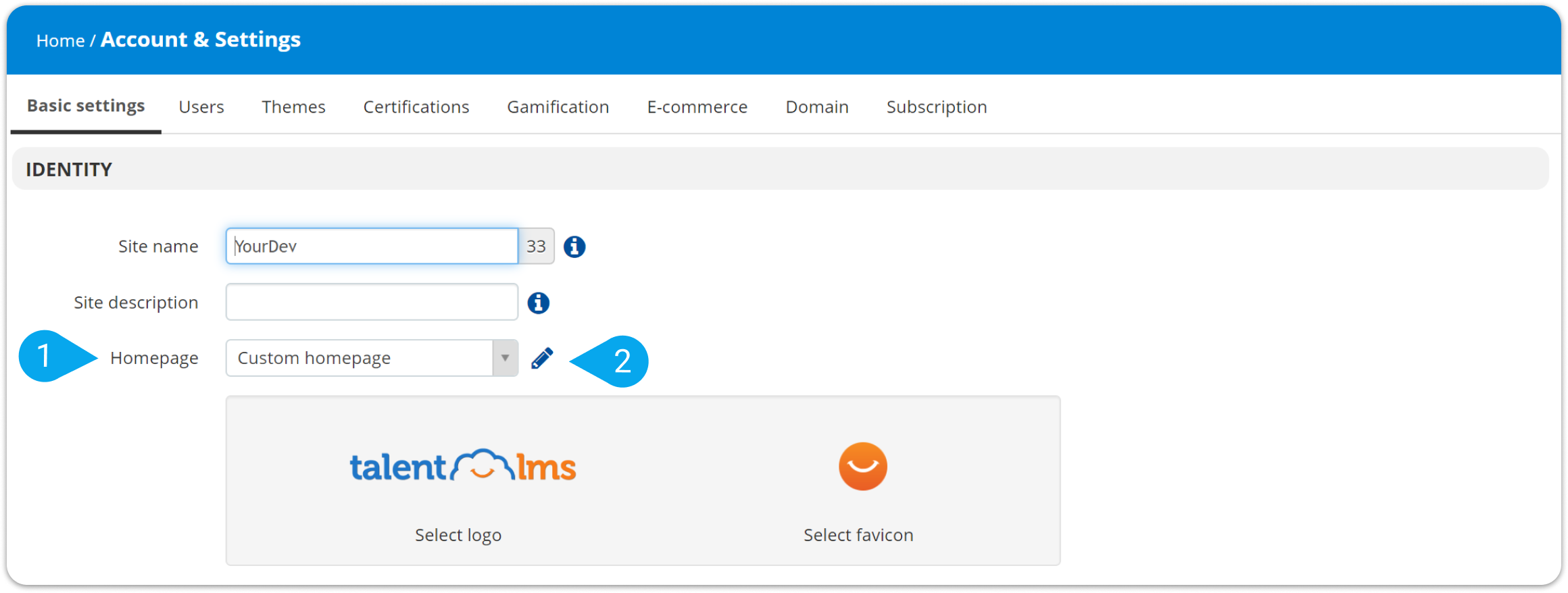 Go To Homepage >> How To Customize Your Homepage Talentlms Support Help Center